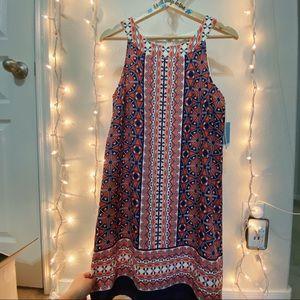 NWT LONDON TIMES DRESS 8 HALTER